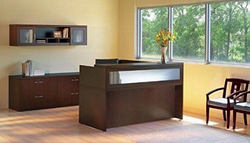 - Mayline L-Shaped Reception Desk 72