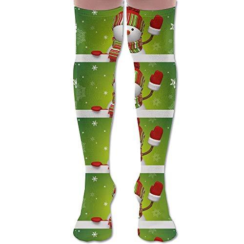 Snowman Soft Stocking - LKJH Christmas Snowman Unisex Socks Premium Soft Fancy Design Multi Colorful Patterned for Women Men