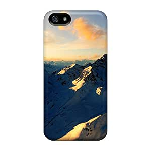 Premium MXjOGhR569turiw Case With Scratch-resistant/ Swiss Alps Case Cover For Iphone 5/5s