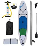 H2O Dive Gear Inflatable Touring Stand Up Paddle Board Kit with Sup and Accessories
