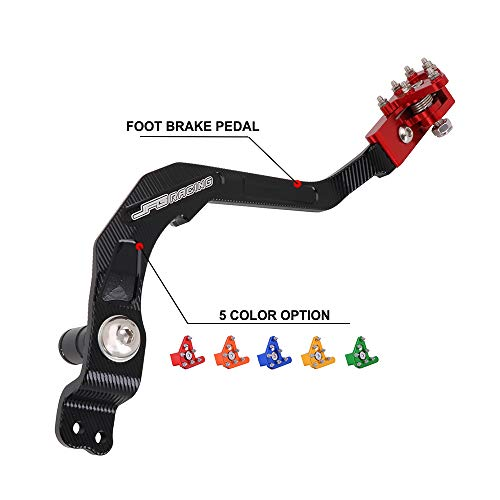 Motorcycle Rear Foot Brake Pedal Lever For Honda CRF250L 2013-2019 CRF250RL 2017-2019 - CNC Red