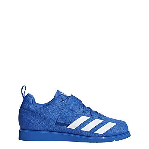 Adidas Powerlift 4 para Hombre, Azul/Blanco/Azul, 9 M US