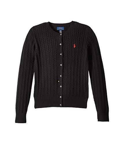 Ralph Lauren Girls Cardigan Sweater - Ralph Lauren Girls Cable Knit Cotton