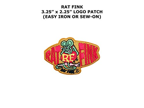 Hot Rod Costume Instructions (Rat Fink Biker Hot Rod Ed Roth Embroidered Iron/Sew-on Comics Cartoon Theme Logo Patch/Applique)
