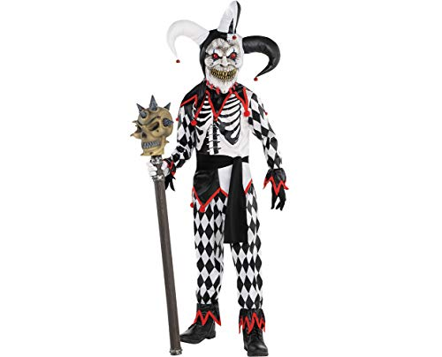 Amscan Boys Sinister Jester Costume - Small