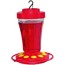 First Nature 3090 32-ounce Hummingbird Flower Feeder