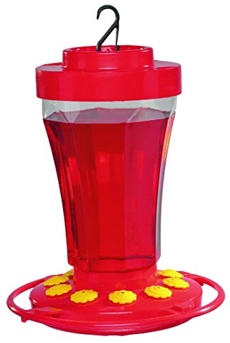 Plastic Feeder Base - First Nature 3090 32-ounce Hummingbird Flower Feeder