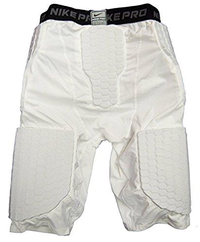 Capa base de la competencia Nike Pro - Pantalones cortos de compresi¨®n acolchada (XXL)