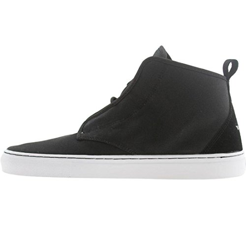 Creative Recreation Men's Lacava Mid Sneaker, Black/White, 13 M US