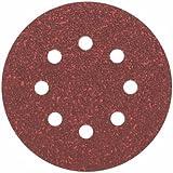 Bosch Pro Schleifblatt für Exzenterschleifer Holz und Farbe (5 Stück, Ø 125 mm, Körnung 80, C430)