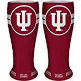 NCAA Indiana Hoosiers Ceramic Collectible Pilsner, 2.5-ounce