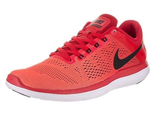 Nike Menns Flex 2016 Rn Løpesko Universitet Rød / Lys Rød / Hvit / Sort