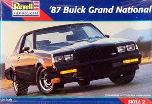 アメリカレベル 1/24 87 ビュイック グランド ナショナル 02497 プラモデルの商品画像