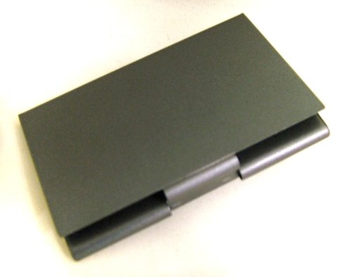 Black Card Holder Teflon or Black Business Case Business Teflon or Credit Credit BXznP