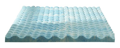 Sleep Innovations 2.5-inch Reversible Gel Memory Foam Mattre