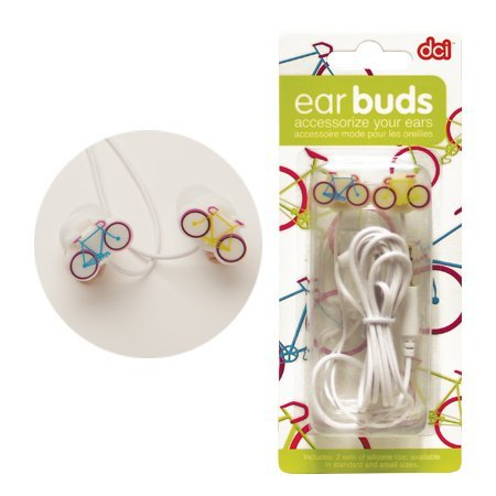 Earbuds - Bicycle by D?cor Craft Inc.
