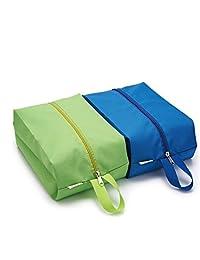 Shoes Bags Waterproof Portable Travel Storage Organizer 4 Pack Random Color