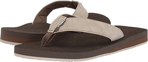 Cobian Men's Floater Flip-Flop, Bone, 13 M US