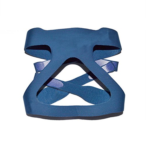 CPAP Mask Headgear,Replacement Respironics Straps,Universal 4 Point Headgear Straps-Compatible with Most Apnea Masks for Home Use (without mask) (Blue)