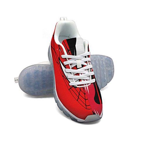 Faaerd Red Spider Mask Mens Moda Leggero Mesh Cuscino Daria Sneakers Sneakers Da Basket