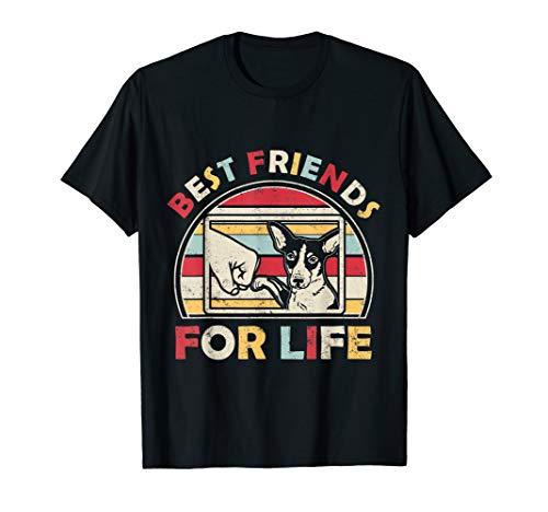 (Funny Rat Terrier - Best Friends For Life T-shirt)