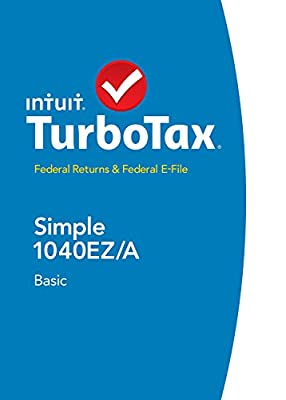 TurboTax Basic Fed + Efile