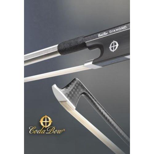 CodaBow Diamond SX Carbon Fiber 4/4 Violin Bow