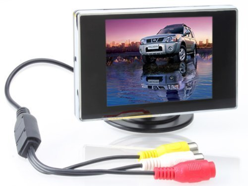 BW 3.5 Inch TFT LCD Monitor for Car / Automobile (Tft Lcd Display)