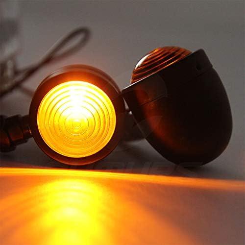 CICMOD 2 /× Intermitentes Moto Luz Led del Manillar Luces de Direcci/ón Se/ñales para Harley
