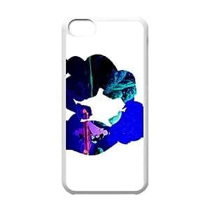 Aladdin 001 funda iPhone 5c caja funda del teléfono celular del teléfono celular blanco cubierta de la caja funda EVAXLKNBC31796
