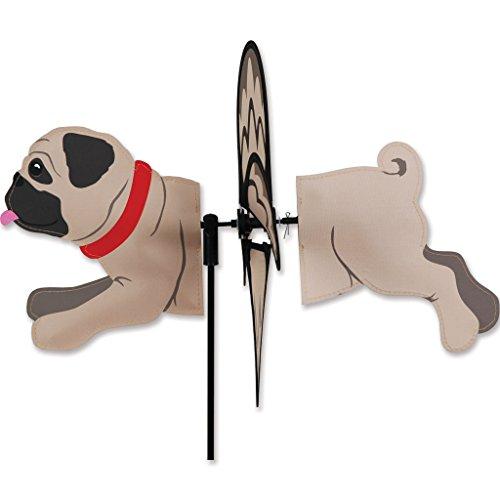 Petite Spinner - Pug (Pug Garden)