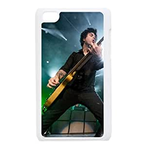 Green Day 3 funda iPod Touch 4 caja funda del teléfono celular blanco cubierta de la caja funda EEECBCAAJ02842