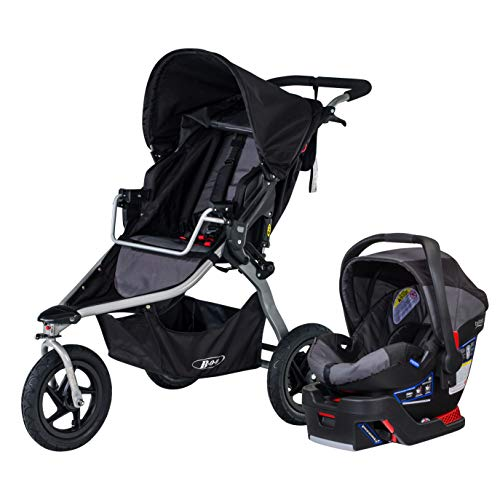 BOB Rambler Travel System with B-Safe 35 Infant Car Seat – Birth to 75 Pounds, Black