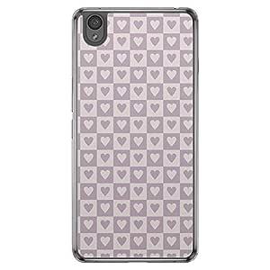 Loud Universe OnePlus X Love Valentine Printing Files Valentine 116 Printed Transparent Edge Case - Purple
