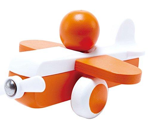 Hape Sky Flyer Toy Plane in Orange