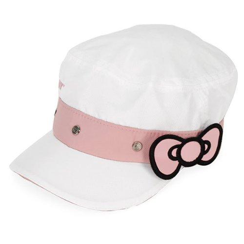 Hello Kitty Sports Women's Cadet Hat, White, Medium