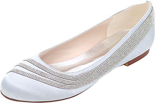 5 36 Femme Compensées Find Sandales Argenté Nice Silver tqt04YFw