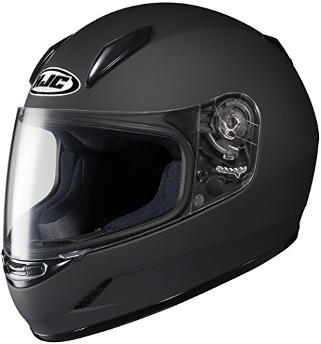 HJC Helmets CL-Y Youth Helmet (Matte Black, Small)
