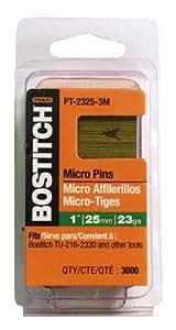 "Stanley Bostitch PT-2330-3M 3000CT 1-3/16"" Pin Nail - Quantity 5"