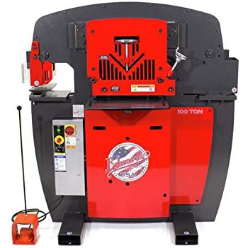 Edwards 10233512 100 Ton Ironworker 230v 3ph Powerlink
