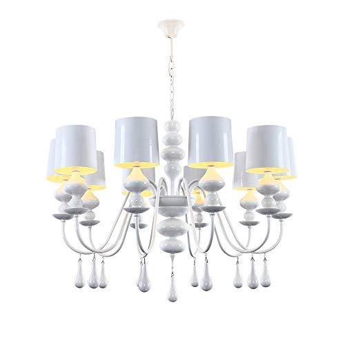 GLXDDB European Drop Cucurbit Chandelier Neo-Classical Minimalist Modern Mediterranean Luxury Living Room Bedroom Dining Room Villa Lamps 10 Lights A+