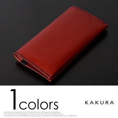 (カクラ)KAKURA 通帳&パスポートケース urushi レッド B00JJFSXWO