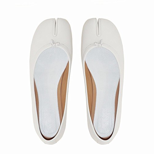 de Profondes Chaussures Chaussures Ré Peu Bouche Toe Fer à NSX Vraiment Plate Split Cheval Feu Super 0qaFxxPp
