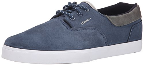 C1rca Mens Valeo Se Skateboard Schoen Royal Blue / Moon Geslagen