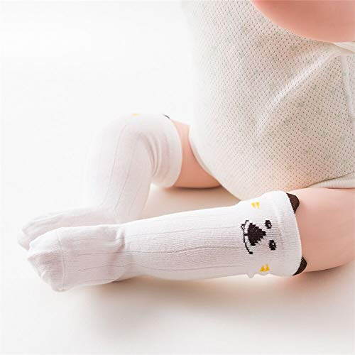 1Pair Socks Sweet Socks for Newborn Infant Kids Cotton Toddlers Leg Warmers Knee Soft Long Baby Socks for Girls Boy (2, 24M)