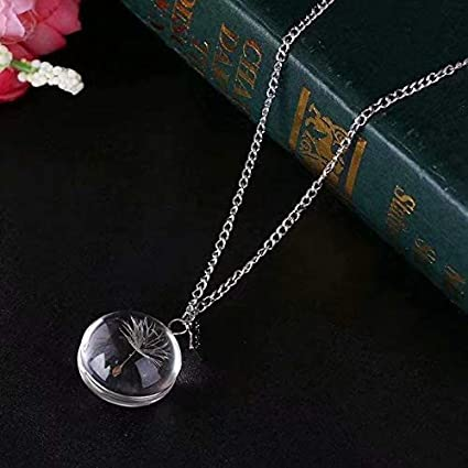 48994b044bdfc1 Vintage Ladies' Necklace The Tree Glass Gem Pendant Long Chain Blessing  Necklace: Amazon.co.uk: DIY & Tools
