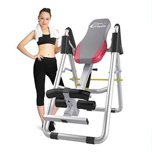 Ainfox Heavy Duty Inversion Table, Therapy System Adjustable Height and Wide Fitness Equipment Relief of Back Pain Safety Support Review