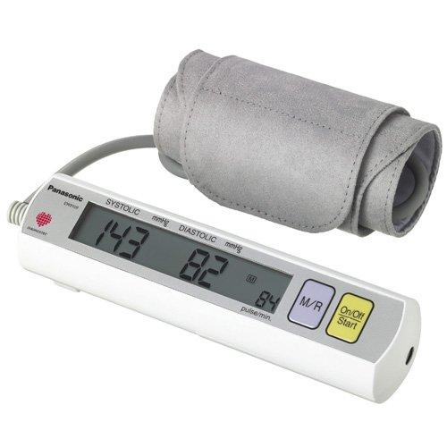 Panasonic EW3109W Портативный Плечи Монитор артериального давления Белый / Серый