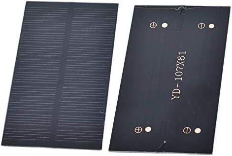 YuanBo Wu 2ST Sonnenkollektor 1W 5V elektronische DIY Kleiner Solar-Panel for Handy-Ladegerät Home Licht Spielzeug usw. Solarzelle