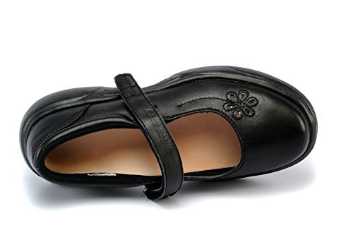 Mt. Emey Women's 9205 Mary Janes,Metallic Grey,9.5 D US